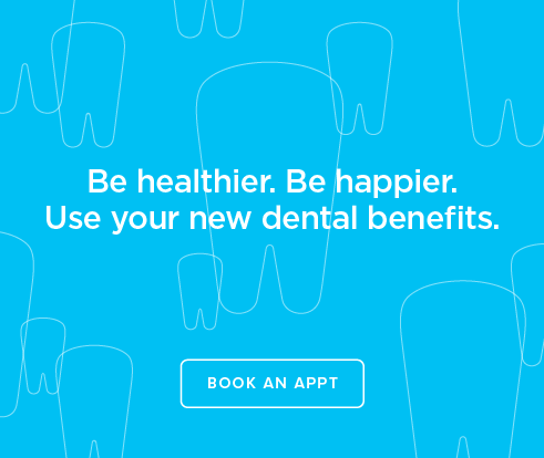 Be Heathier, Be Happier. Use your new dental benefits. - Coppell Modern Dentistry