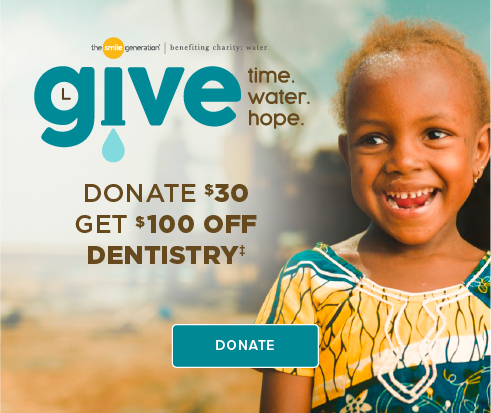 Donate $30, Get $100 Off Dentistry - Coppell Modern Dentistry